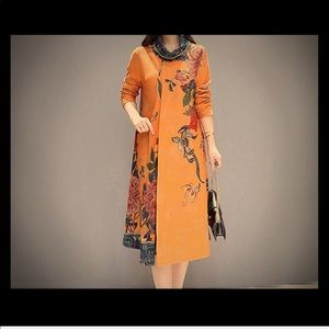 Dresses - Vintage turtle neck Dress